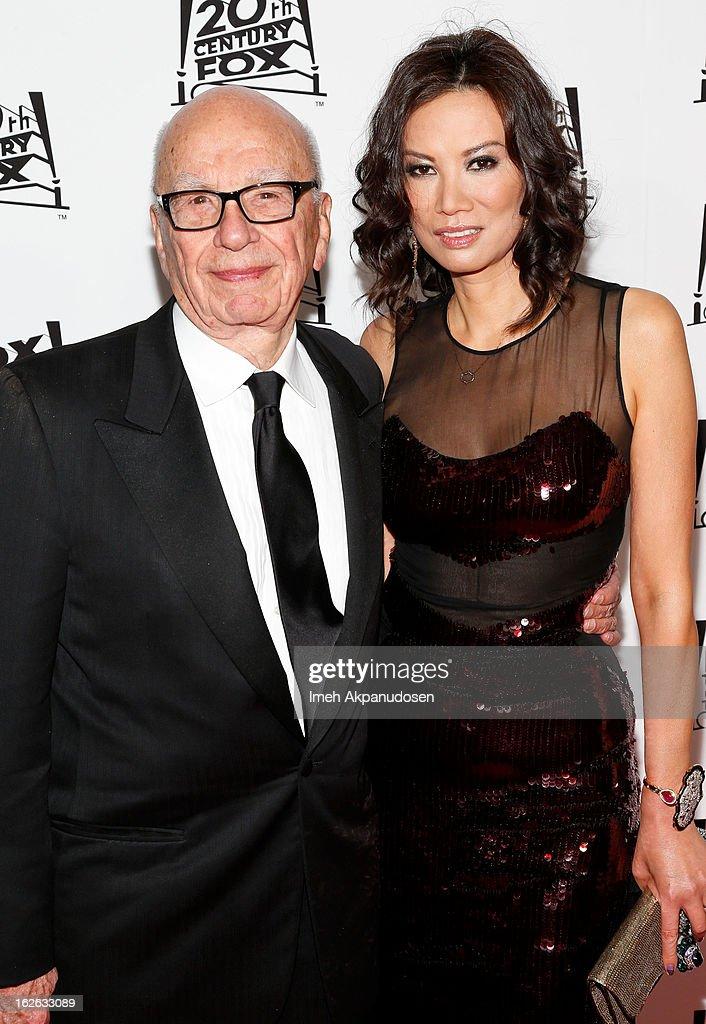 Rupert Murdoch Files For Divorce From Wife Wendi Deng