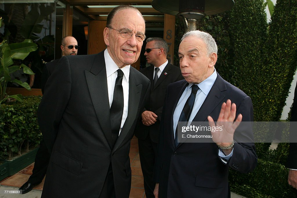 Rupert Murdoch and S.I. Newhouse