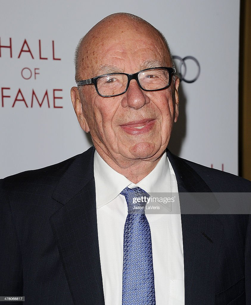 Rupert Murdoch attends the Television Academy's 23rd Hall of Fame induction gala at Regent Beverly Wilshire Hotel on March 11, 2014 in Beverly Hills, California.