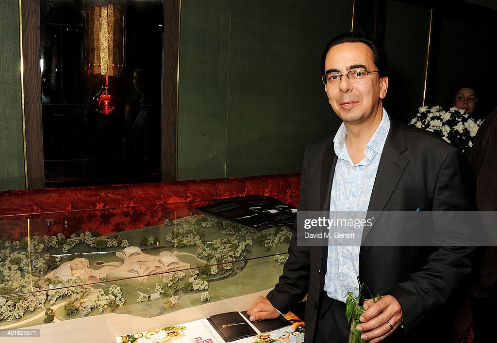Rupert Rohan attends an after party celebrating the UK Premiere of 'Day Of The Flowers' at The Mayfair Hotel on November 24, 2013 in London, England.