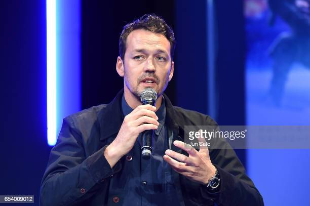 Rupert Sanders attends the official press conference ahead of the World Premiere of the Paramount Pictures release 'Ghost In The Shell' at the Ritz...