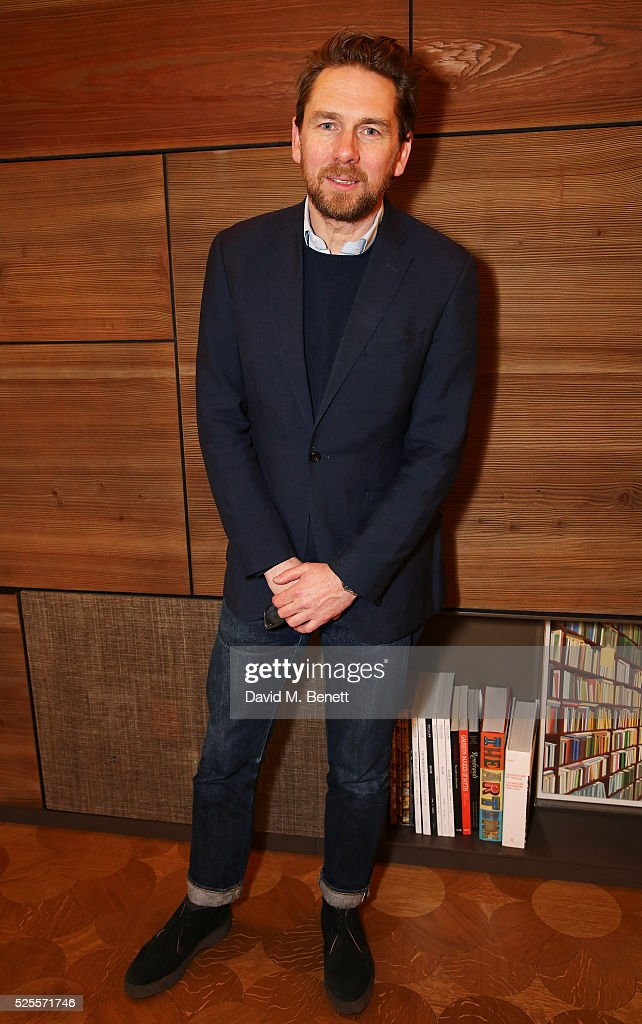 Rupert Sanderson attends the BFC Fashion Trust x Farfetch cocktail reception on April 28, 2016 in London, England.