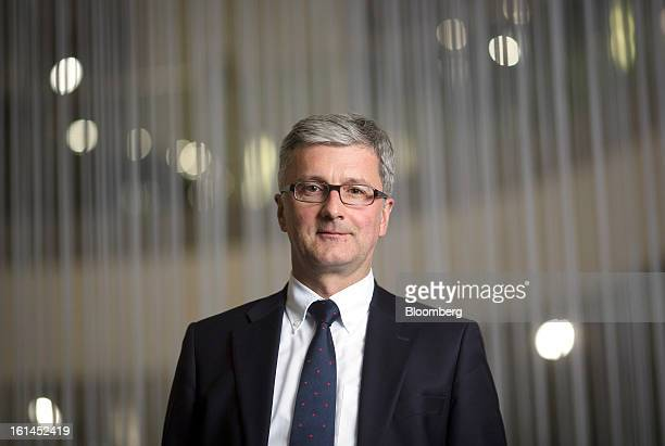 Rupert Stadler chief executive officer of Audi AG poses for a photograph inside the Audi AG headquarters following an interview in Ingolstadt Germany...