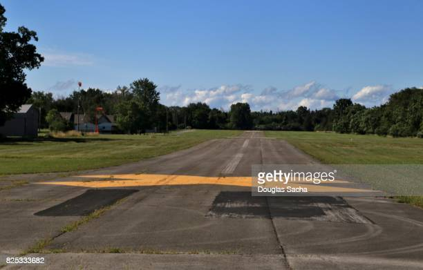 Rural Aviation airport, Kelly's Island, Ohio, USA
