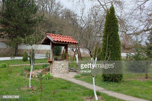 Rural backyard : Stock Photo