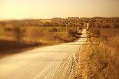 Rural dirt road, Iowa