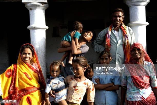 Rural Family, Dilwara, Rajasthan, India