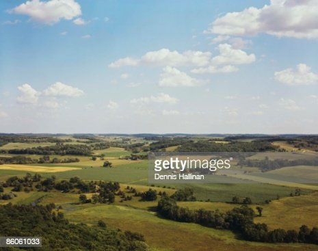 Rural farmland landscape : Stock Photo
