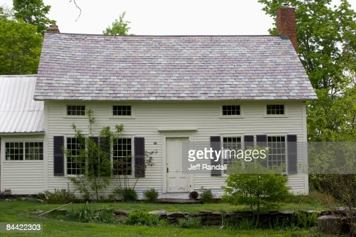 Rural house in Vermont : Stock Photo
