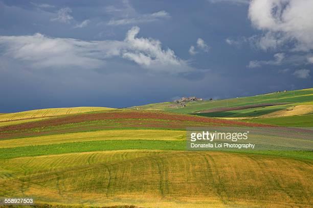 Rural landscape in Sicily