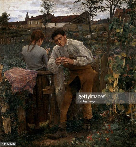 'Rural Love' 1882 Found in the collection of the State A Pushkin Museum of Fine Arts Moscow