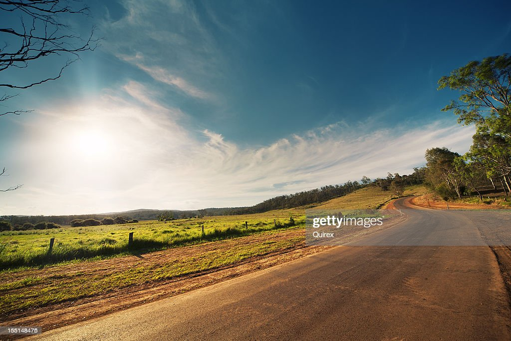 Rural Road : Stock Photo