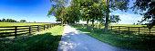 Rural scene around Midway/ Versailles area near Lexington KY