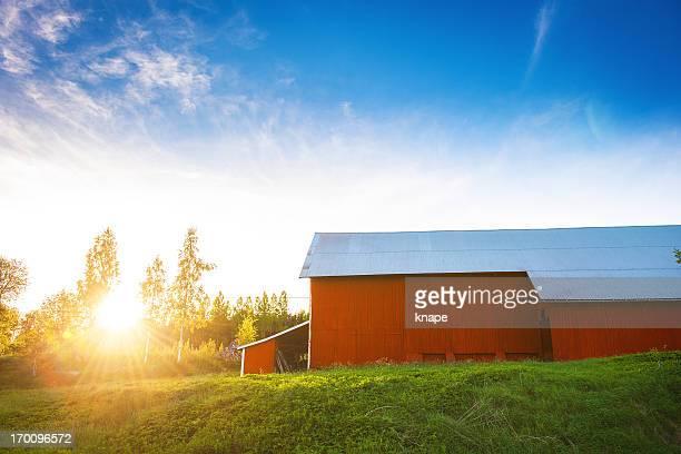 Rural scene in Link?ping Sweden
