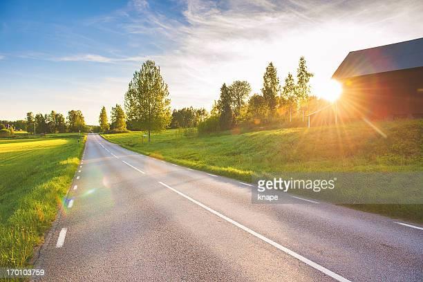 Rural scene in Linköping Sweden