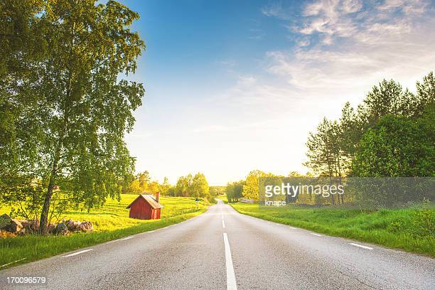Scena rurale in Svezia