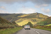 Landscape,Rural,Snowdonia,Driving,Transport,