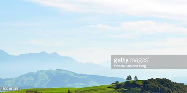 Rural Switzerland in summer
