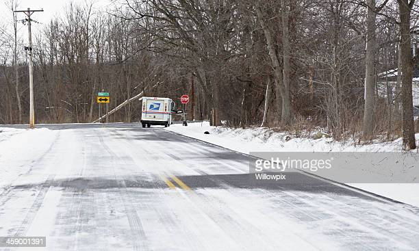 Rural US Postal Service de livraison