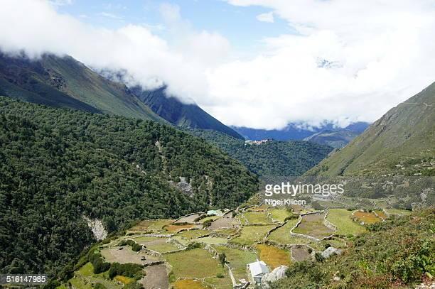 Rural village in Himalayas
