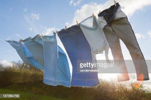 Rural Washing Line