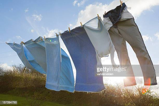Rural Washing Line