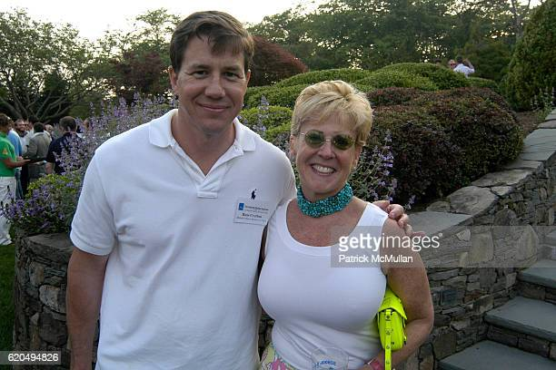 Rus Crafton and Bari Mattes attend School's Out 2008 benefiting The HetrickMartin Institute home of the Harvey Milk High School at East Hampton on...