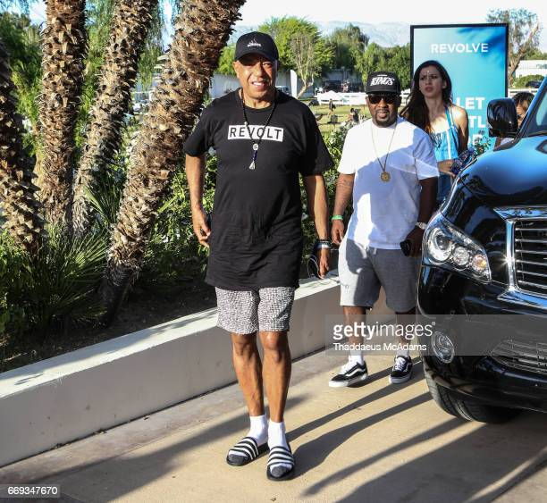 Rusell Simmons arrives at the REVOLVE Desert House during Coachella on April 15 2017 in Palm Springs California on April 15 2017 in Palm Springs...