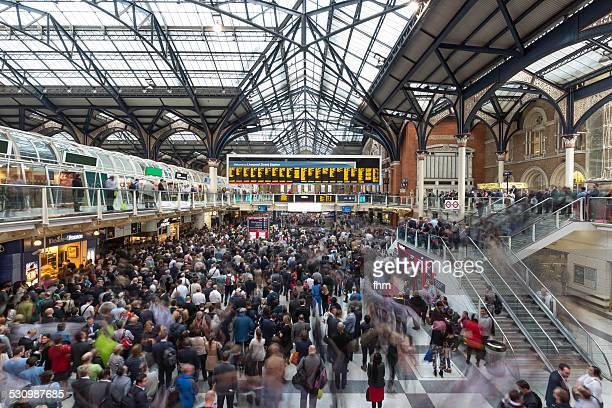 Rush hour at Liverpool Street Station