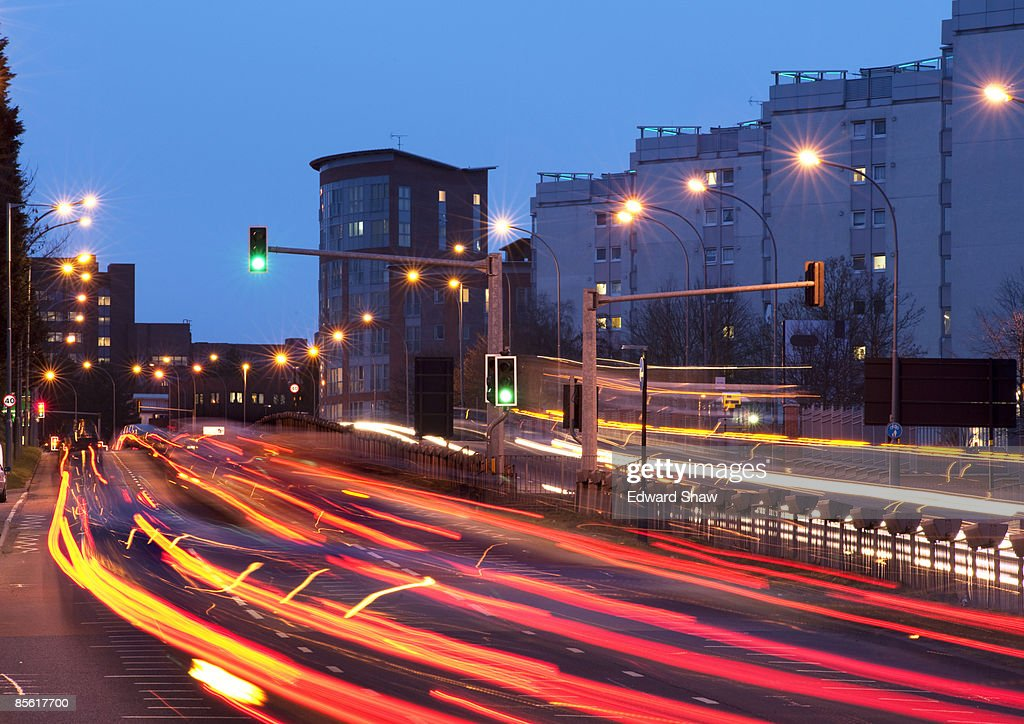 Rush hour, Birmingham UK : Stock Photo