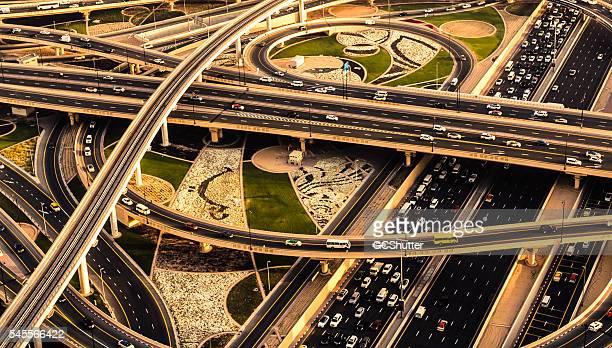 Rush Hour Traffic in Dubai