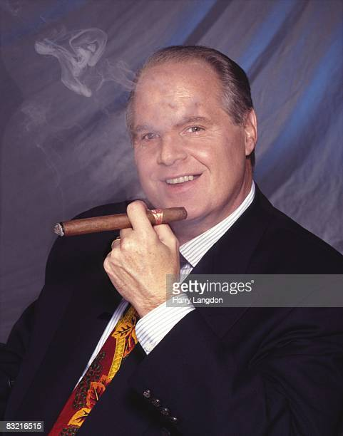 Rush Limbaugh poses for a Portrait on July 6th 2005 in Los Angeles California