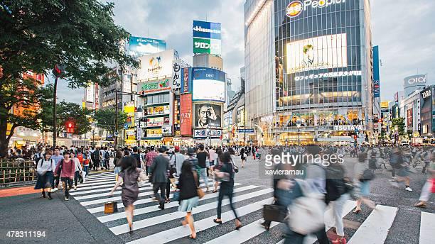 Rushing in Tokio