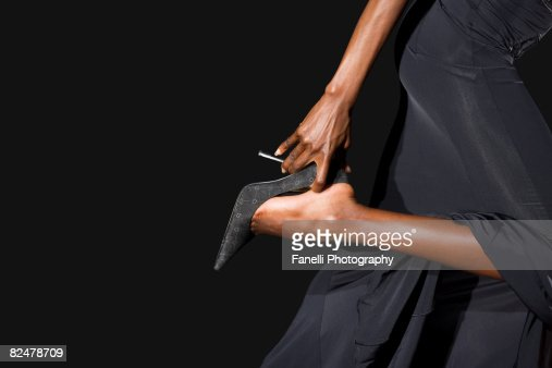 Black Women In Heels Stock Photos and Pictures | Getty Images