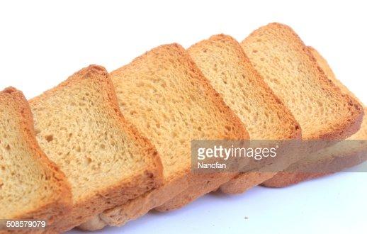 rusk bread : Stock Photo
