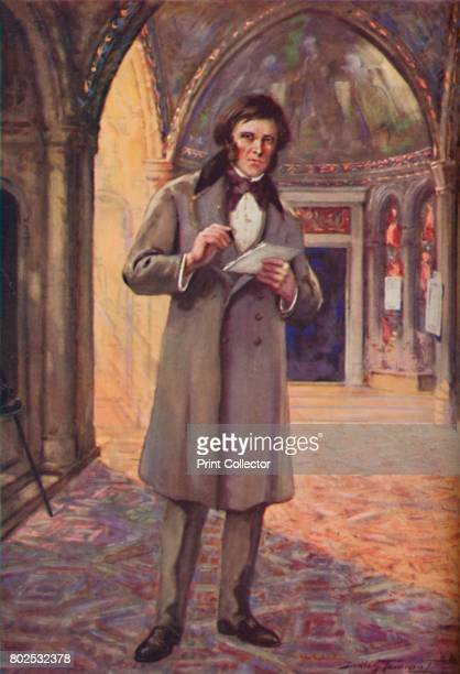 Ruskin in the Land of His Inspiration' c1925 John Ruskin English art critic From Cassell's Romance of Famous Lives Volume 3 by Harold Wheeler [The...