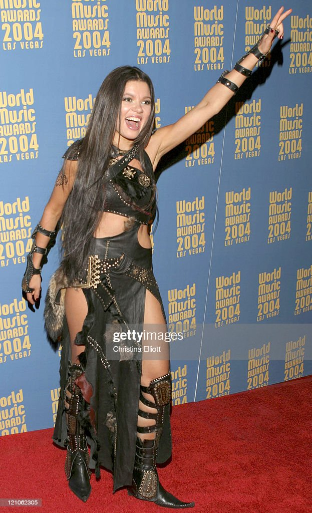 <a gi-track='captionPersonalityLinkClicked' href=/galleries/search?phrase=Ruslana&family=editorial&specificpeople=171840 ng-click='$event.stopPropagation()'>Ruslana</a> during 2004 World Music Awards Restaurant Party at Aladdin Hotel and Casino in Las Vegas, Nevada, United States.