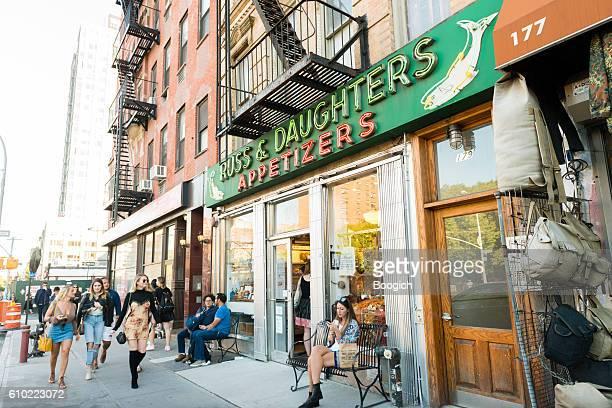 NYC Russ & Daughters Houston Street Lower East Side Manhattan