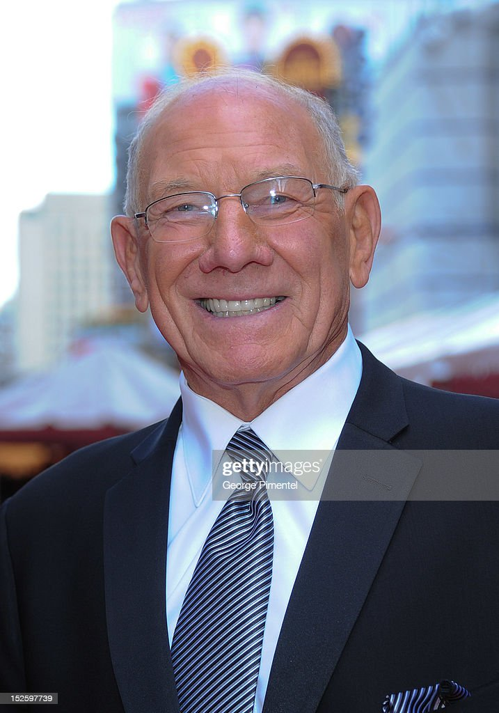 Russ Jackson attends the 2012 Canada's Walk of Fame Awards at Ed Mirvish Theatre on September 22, 2012 in Toronto, Canada.