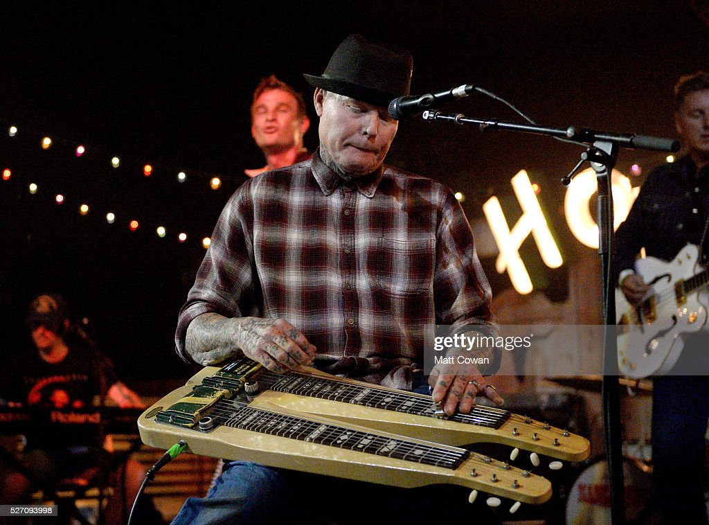 Russel Hayden of Nancarrow performs onstage during 2016 Stagecoach California's Country Music Festival at Empire Polo Club on May 01, 2016 in Indio, California.