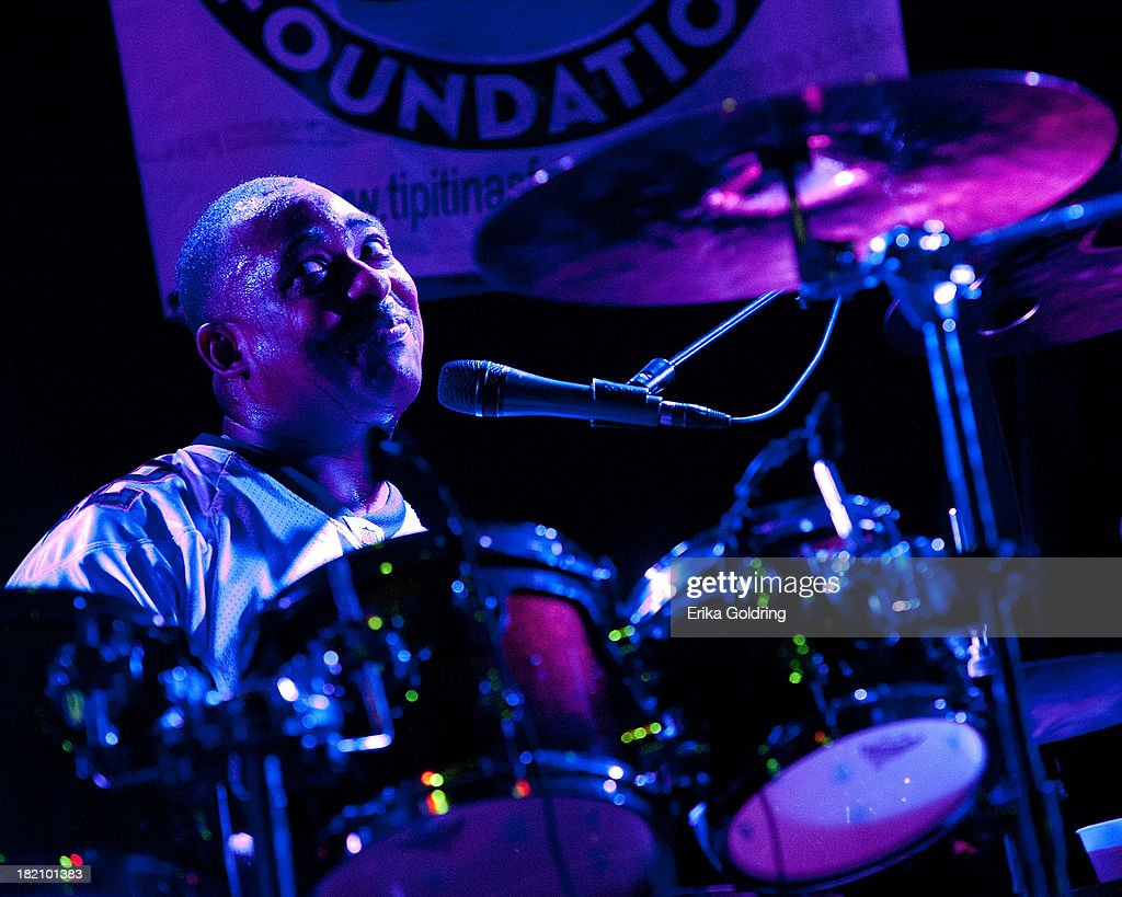 Russell Batiste of The Funky Meters performs at Tipitina's on September 27, 2013 in New Orleans, Louisiana.