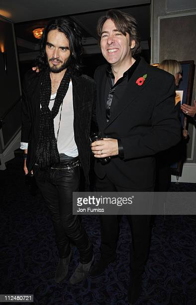 Russell Brand and Jonathan Ross attend the Music Industry Trusts' Awards at The Grosvenor House Hotel on November 2 2009 in London England