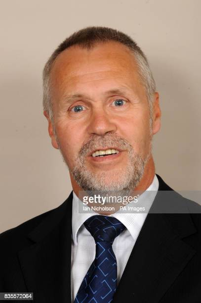 Russell Brown Labour MP for Dumfries and Galloway is photographed at the Houses of Parliament in London