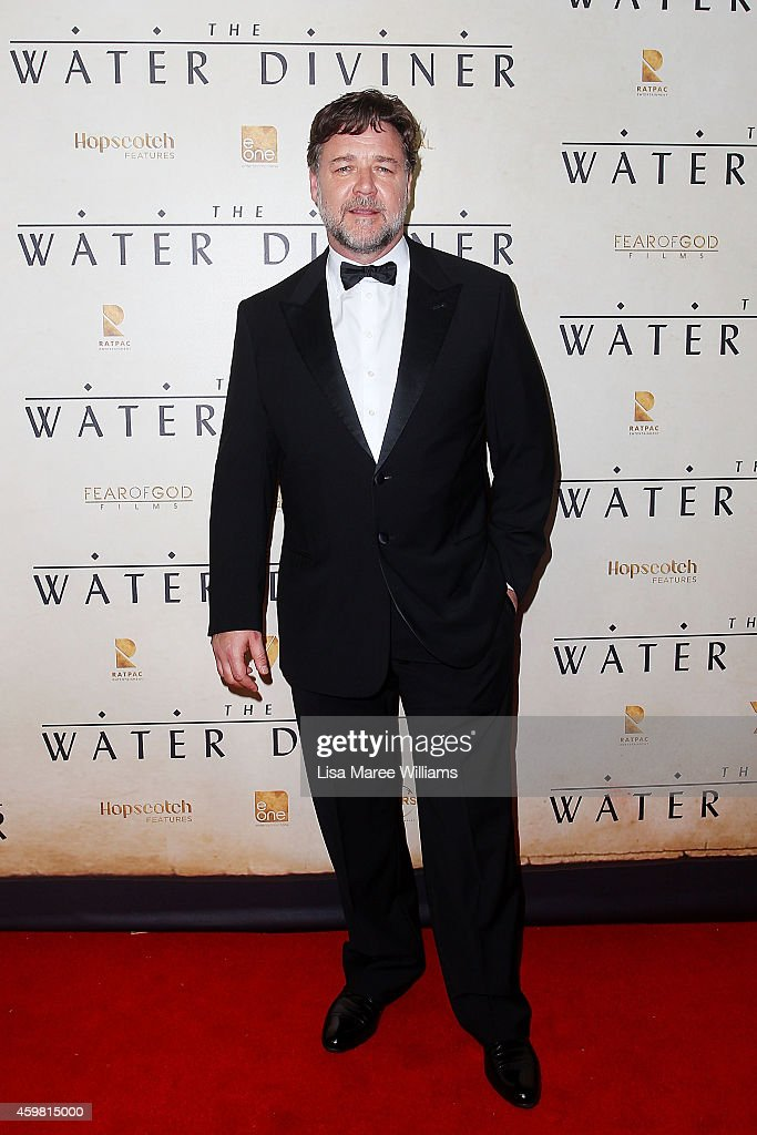 <a gi-track='captionPersonalityLinkClicked' href=/galleries/search?phrase=Russell+Crowe&family=editorial&specificpeople=202609 ng-click='$event.stopPropagation()'>Russell Crowe</a> arrives at the World Premier of 'The Water Diviner' at the State Theatre on December 2, 2014 in Sydney, Australia.