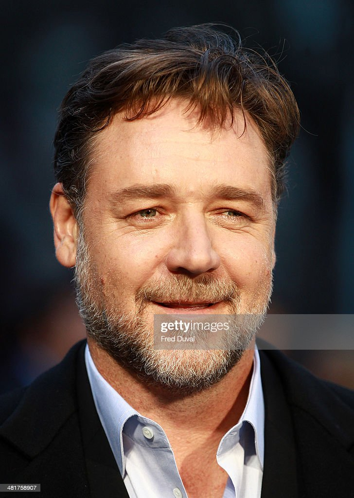 <a gi-track='captionPersonalityLinkClicked' href=/galleries/search?phrase=Russell+Crowe&family=editorial&specificpeople=202609 ng-click='$event.stopPropagation()'>Russell Crowe</a> attends the UK film premiere of 'Noah' at Odeon Leicester Square on March 31, 2014 in London, England.