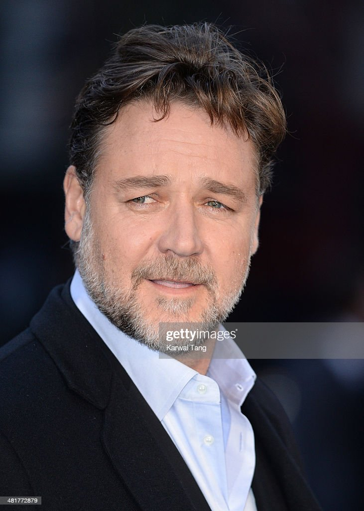 Russell Crowe attends the UK premiere of 'Noah' held at the Odeon Leicester Square on March 31, 2014 in London, England.