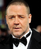 Russell Crowe attends the World Premiere of 'Les Miserables' at Odeon Leicester Square on December 5 2012 in London England