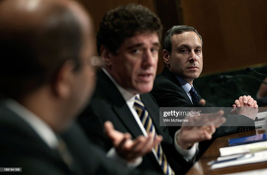 J Russell George Treasury inspector general for tax administration Acting IRS Commissioner Steven Miller and former IRS Commissioner Douglas Shulman...