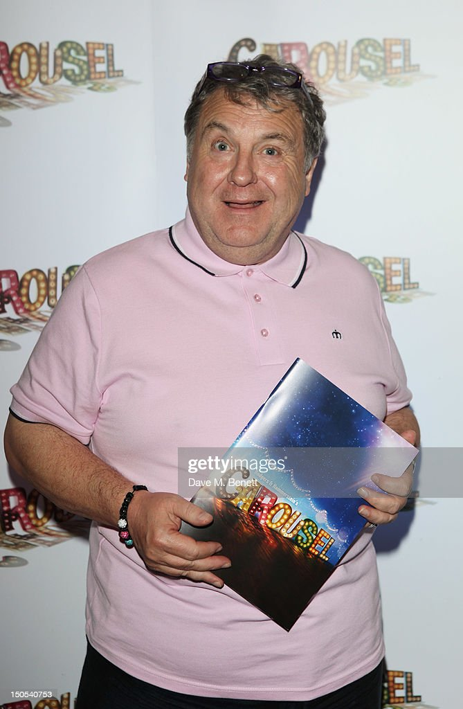 Russell Grant attend the 'Carousel - Press Night - Curtain Call' at Barbican Theatre on August 20, 2012 in London, England.