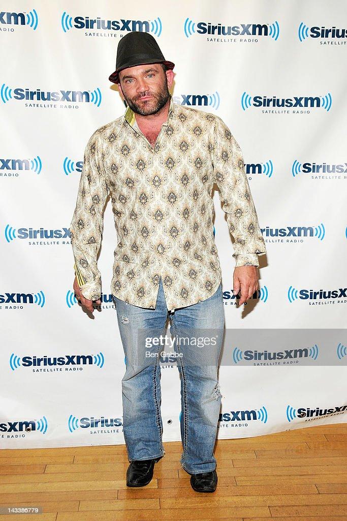 Russell Hantz visits SiriusXM Studio on April 25, 2012 in New York City.